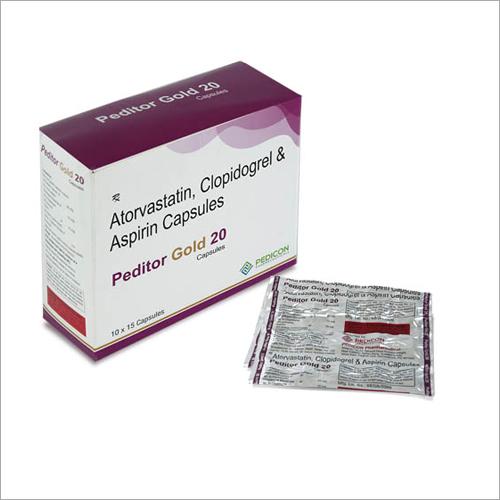 Atorvastatin - Clopidogrel & Aspirin Capsules