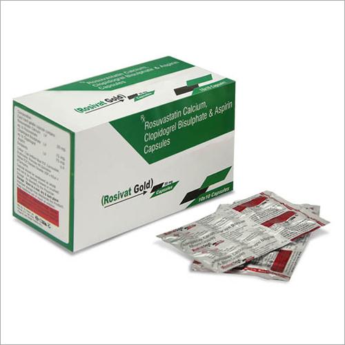 Rosuvastatin Calcium - Clopidogrel Bisulphate & Aspirin Capsules