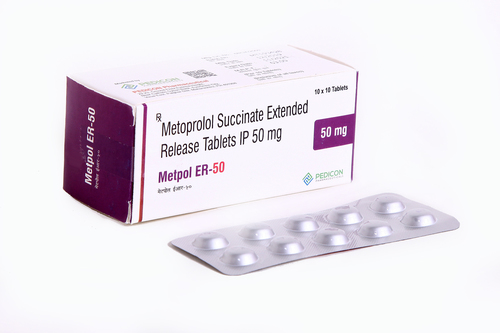 Metoprolol Succinate Extended Release Tablets IP