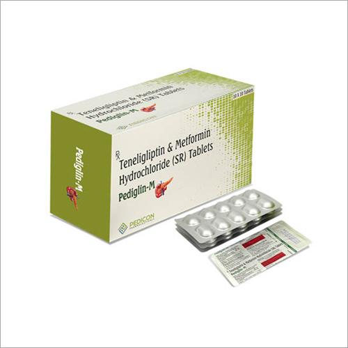 Teneligliptin & Metformin Hydrochloride (SR) Tablets