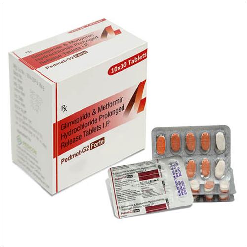 Glimepiride & Metformin Hydrochloride Prolonged Release Tablets IP