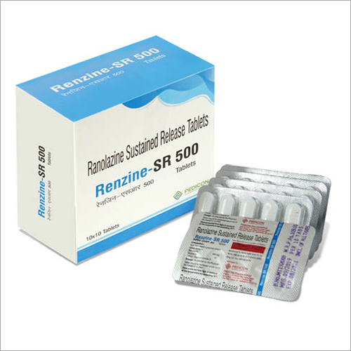 Ranolazine Sustained Release Tablets