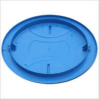 Blue Plastic Water Tank Cover