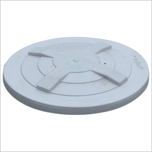 Gray Plastic Water Tank Cover