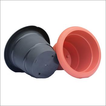 8 Inch Plastic Deluxe Nursery Pot