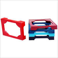 Plastic Refrigerator Medium Square Stands