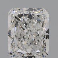 Cvd Diamond 4.87ct F SI1 Radiant Cut Diamond IGI CERTIFIED