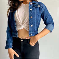 Ladies Regular Fit Denim Jacket