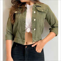 Ladies Fancy Denim Jackets