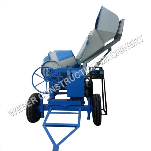 Weber Digital Weight Hydraulic Concrete Mixer