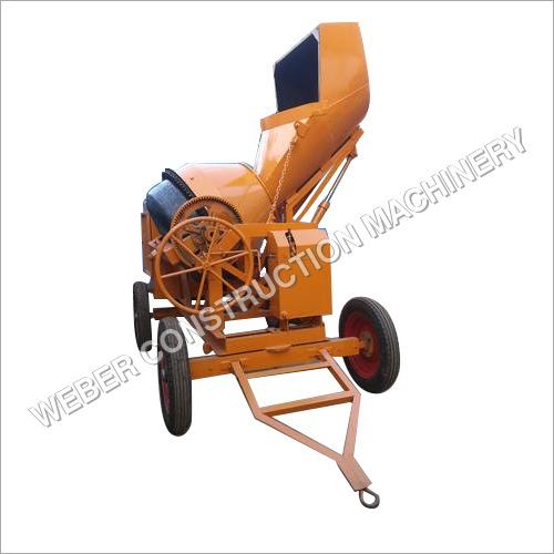Weber Hydraulic Concrete Mixer