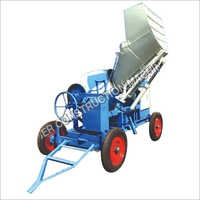 Weber Mobile Concrete Mixer with Hydraulic Hopper