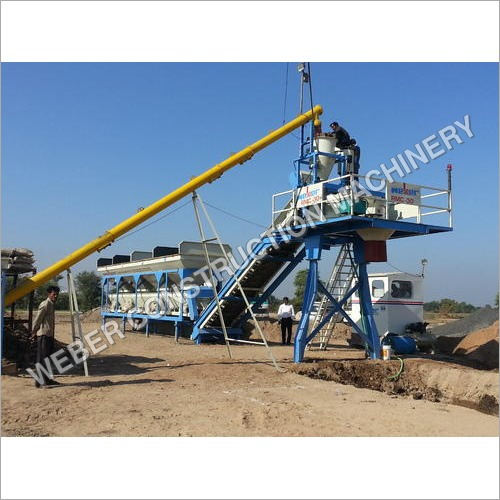 High Speed Weber Stationary Type Concrete Batching Plant