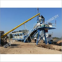 Weber Stationary Type Concrete Batching Plant