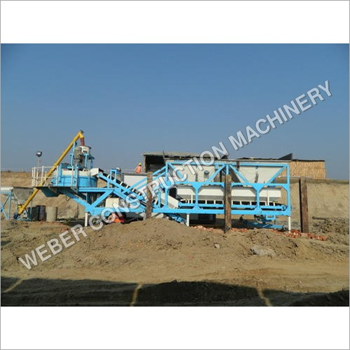 Weber Mobile Type Concrete Batching Plant