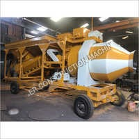 Weber Reversible Drum Concrete Batching Plant