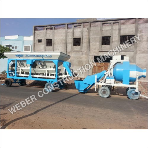 Weber Mobile Semi Automatic Batching Plant