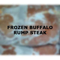 Frozen Buffalo Rump Steak