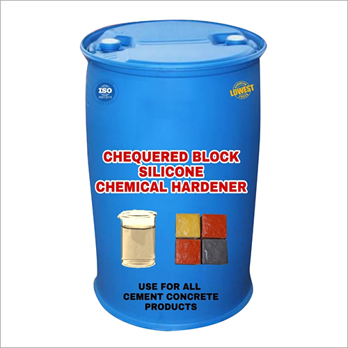 Chequered Block Silicone Hardener Chemical