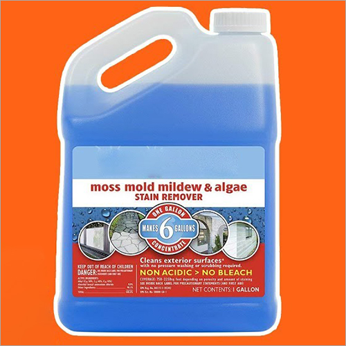 Moss Mold Mildew And Algae Stain Remover