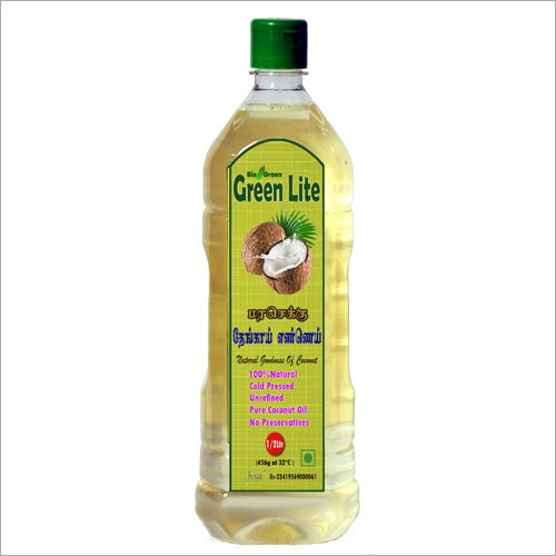 Cold Pressed Coconut Oil (Chekku, Ghani) 500ml