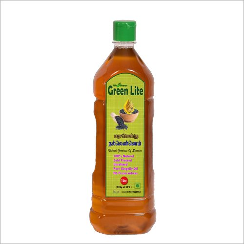 Cold  Pressed Sesame Oil (Chekku, Ghani) 1 Ltr.