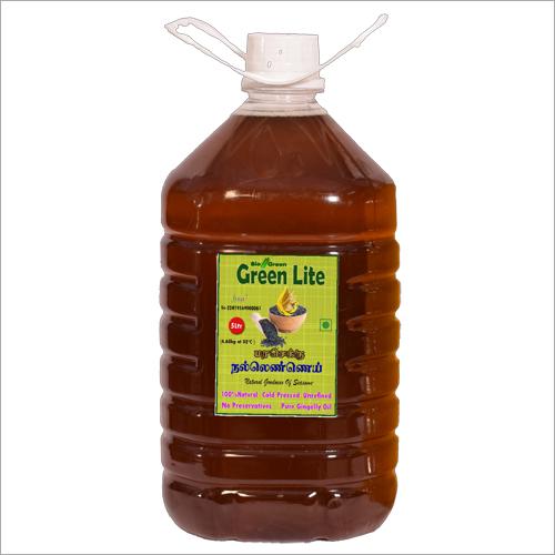 Cold  Pressed Sesame Oil (Chekku, Ghani) 5 Ltr.