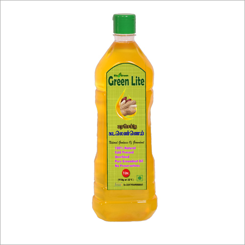 Cold Pressed Groundnut Oil (Chekku, Ghani) 1 Ltr.