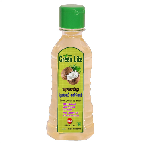 Cold Pressed Coconut Oil (Chekku, Ghani) 200ml