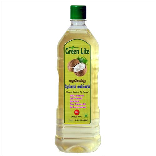 Cold  Pressed Coconut Oil (Chekku, Ghani) 1 Ltr.