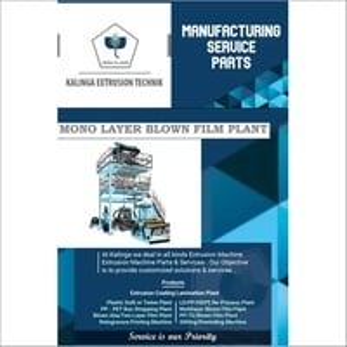Ldpe Plastic Blown Film Extrusion Machine
