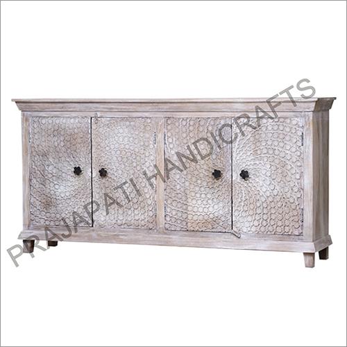 Wooden 180 cm Four Door Sideboard