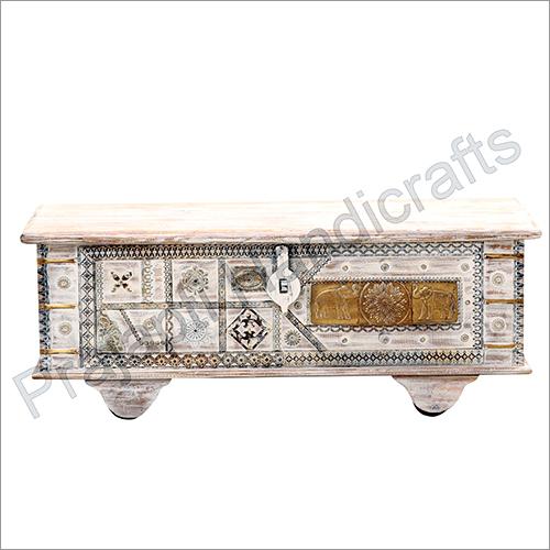 Wooden Designer Blanket Box