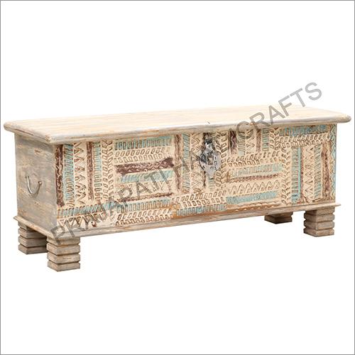 Wooden 116 cm Classic Blanket Box