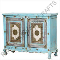 Wooden 100cm Two Door Side Board