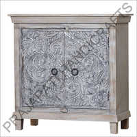 Wooden Two Doors Designer Sideboard