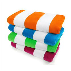 Stripe Cotton Hand Towel