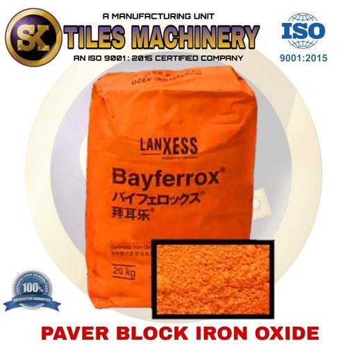 Paver Block Iron Oxide