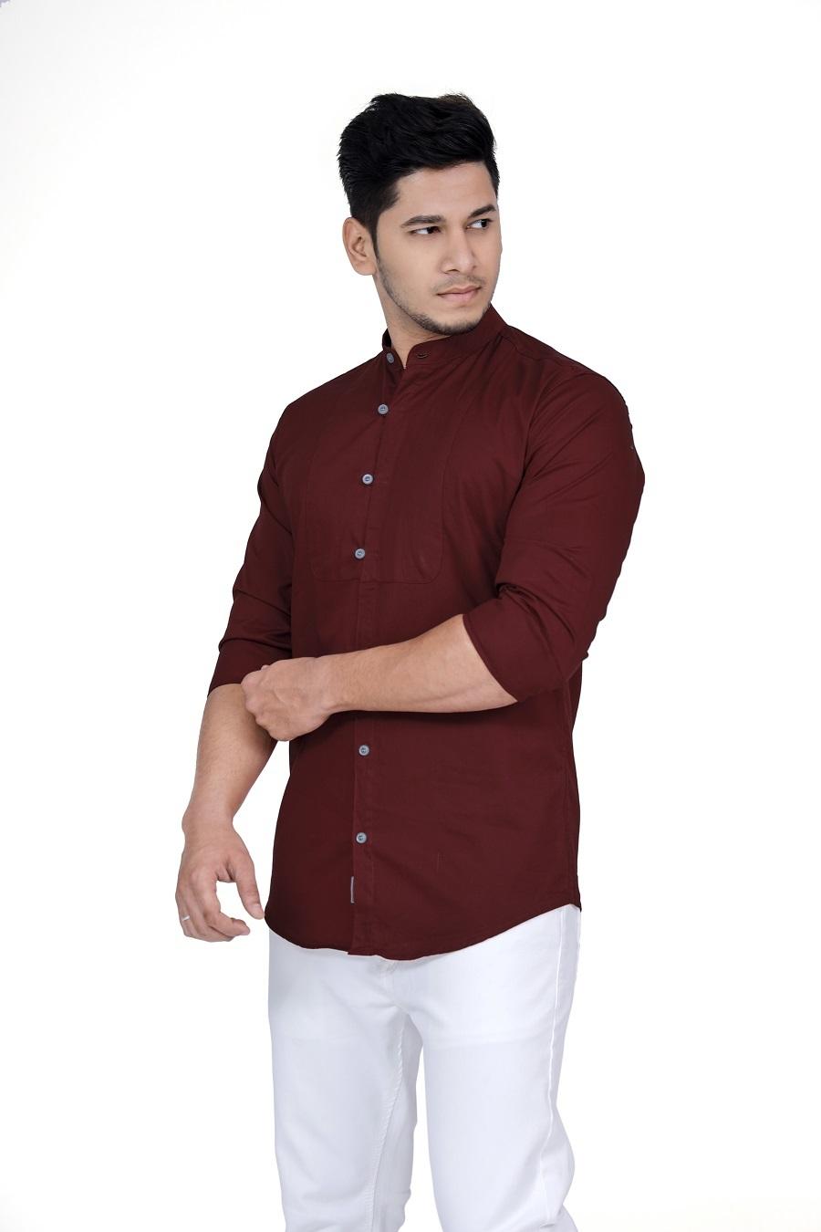 plain basic shirt