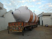 Vertical Fly Ash Storage Silo and Feeding System