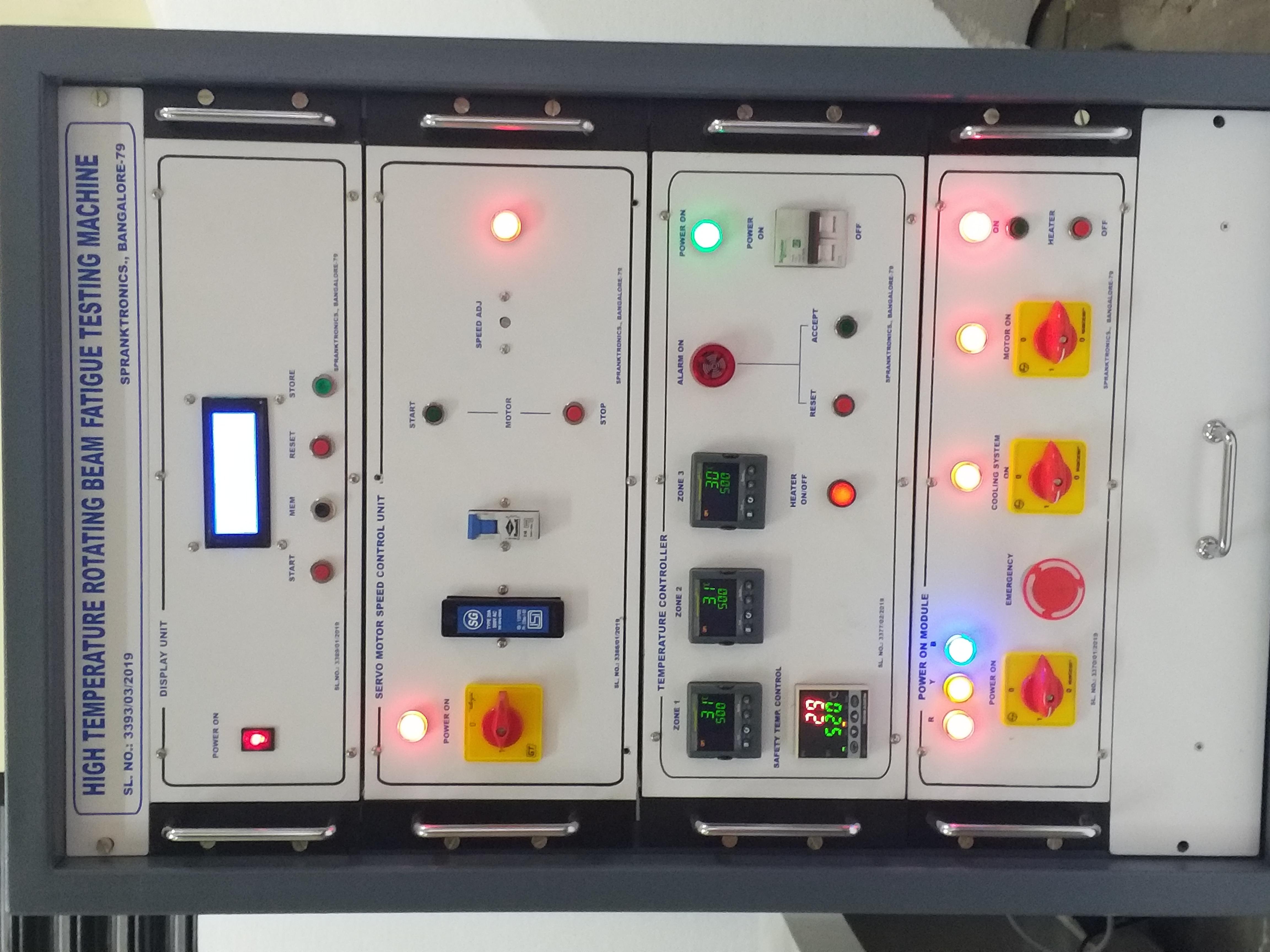 High Temperature & Room Temperature Rotating Bending Fatigue Testing Machine