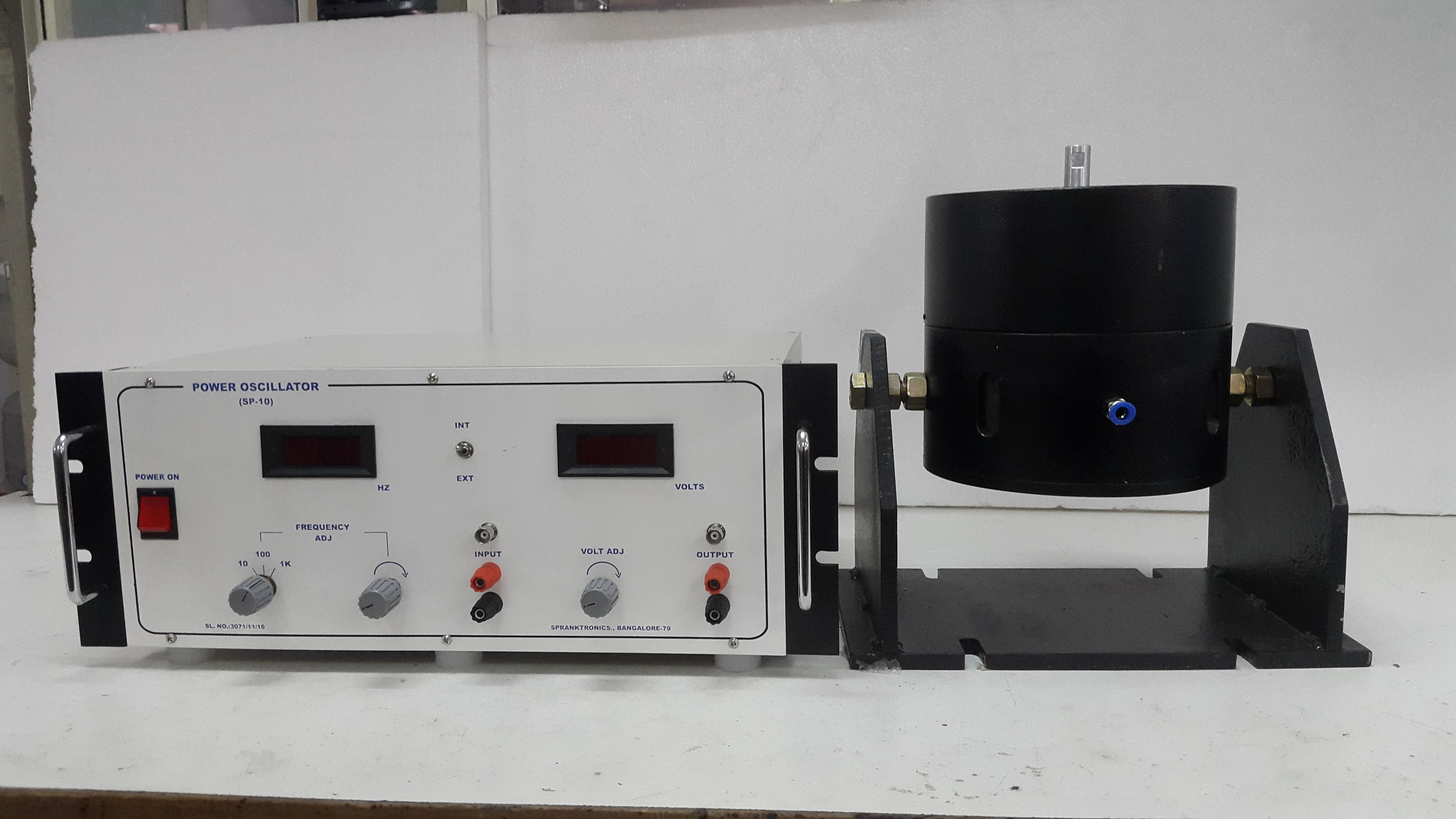 Impulse Hammer &  Beam Test setup