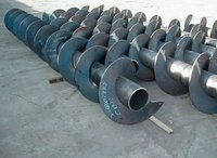 SS And Carbon Steel Conveyor Screw
