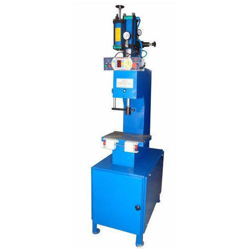 C Frame Hydro Pneumatic Press with Table