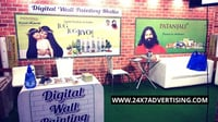 Customized Promotional Wall Painting Service