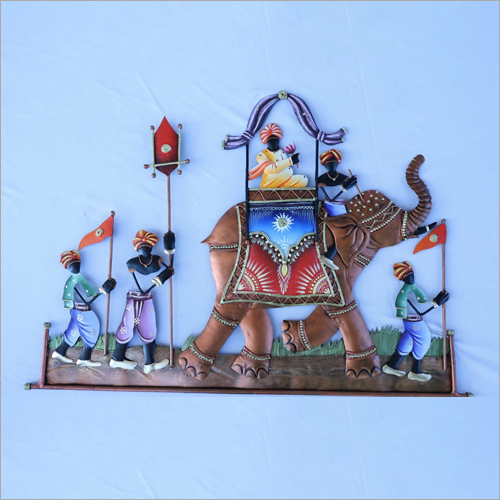 King Elephant Karwa Wall Hanging