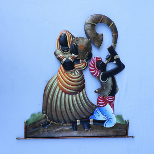 Rajasthani Dancing Couple Wall Hanging