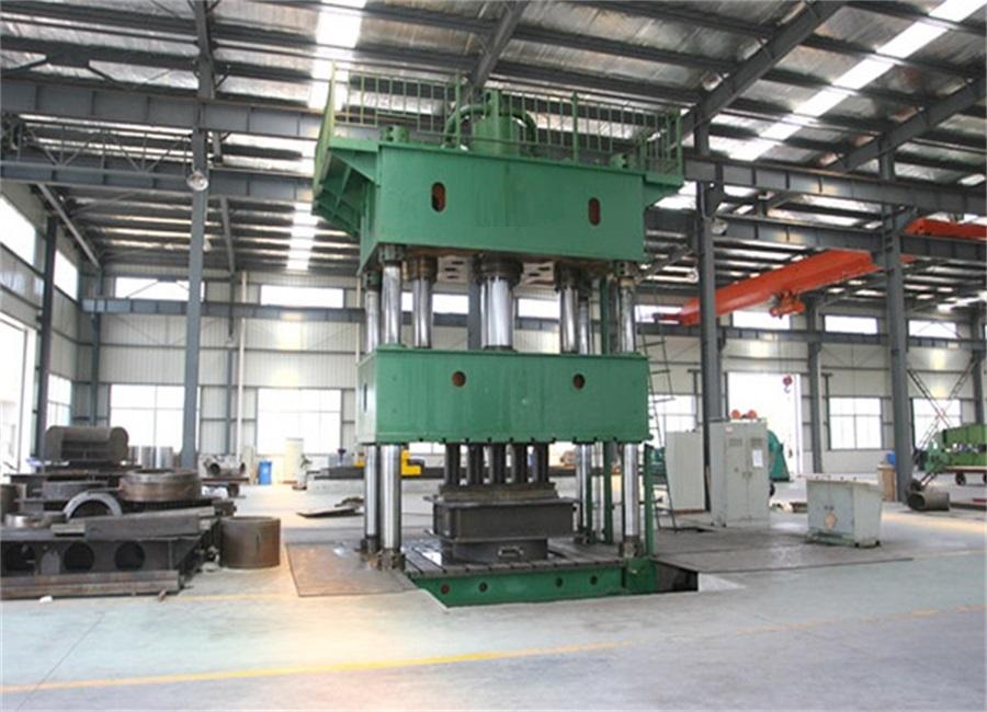 Elbow Press machine ( Hydraulic)
