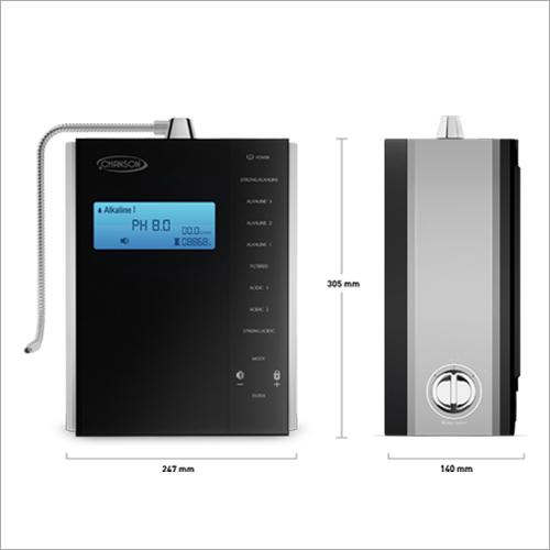 Alkaline Water Ionizer 9 Plates with Hydrogen Boost