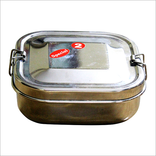 Stainless Steel Single Deck Lunch Box